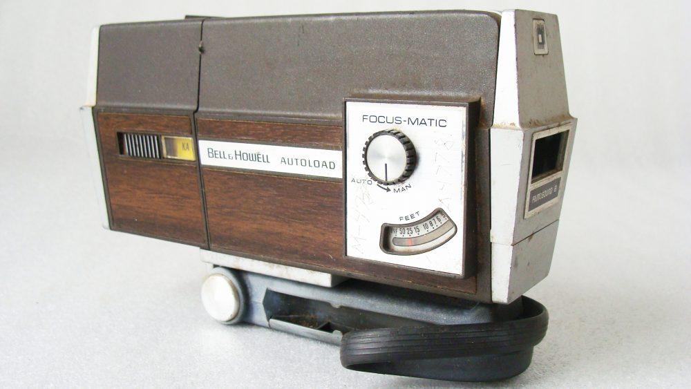 Kino kamera BELL & HOWELL AUTOLOAD FILMOSOUND 8