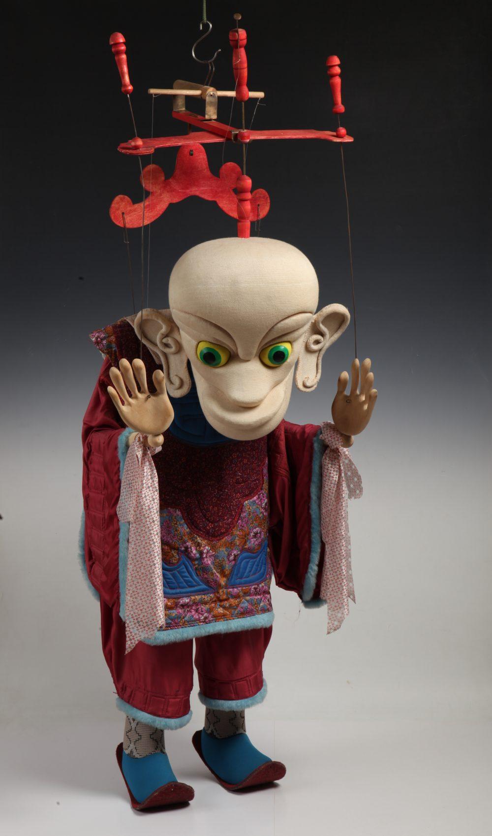 Vitalijus Mazūras, Lėlių teatras, Marionetė
